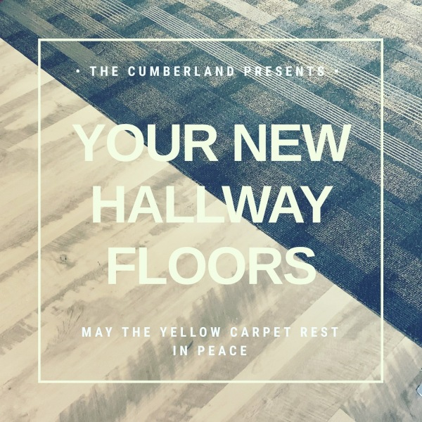We recently laid to rest a dearly loved part of our building...wait, who are we kidding⁉️ No one really liked the yellow carpet!!