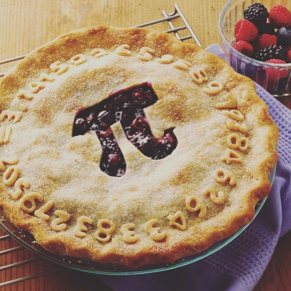It's National Pi Day! Yes, that's the mathematical Pi, but here at Cumberland we love PIE.