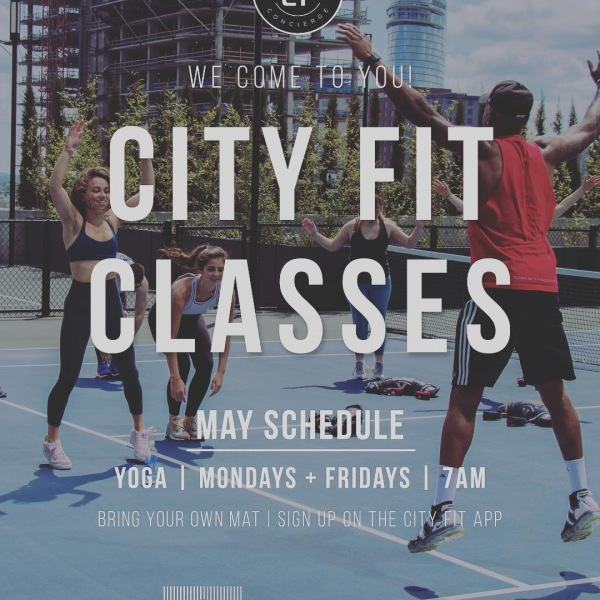 We are ready for May‼️ Summer is approaching, are you ready?  Cumberland residents, enjoy FREE yoga classes on Mondays and Fridays at 7am.