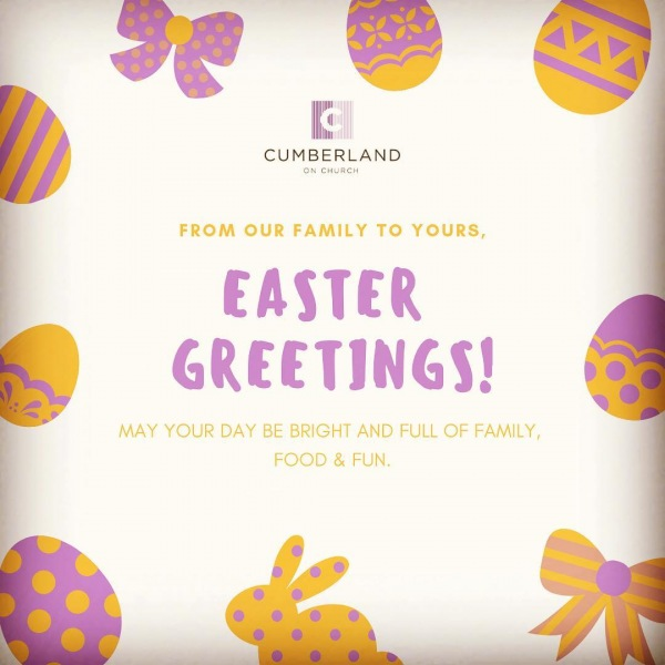 From our family to yours, Happy Easter!